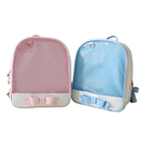 Opromo Trasparent School Shoulder Backpack Clear Candy Bag For Book Bag