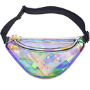 Opromo Clear Transparent Fanny Pack - Stadium Approved Packs for men and women