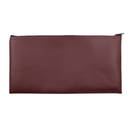 Opromo Vinyl Leatherette Zipper Cash/Bank Bag, 11