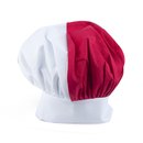 (Price/24pcs) Opromo Blank Italian Chef Hat