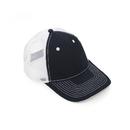 (Price/12 PCS)Opromo 6 Panel Cotton Twill Trucker Cap, Mesh Cap Adjustable