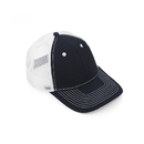 (Price/48 PCS)Opromo 6 Panel Cotton Twill Trucker Cap, Mesh Cap Adjustable