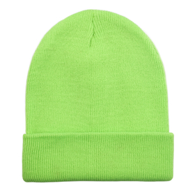 5d83c3b5a6877 Opentip.com  Opromo Unisex Plain Long Cuffed Beanie Fold Knit Hat Ski Skull  Cap