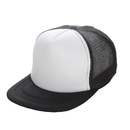 Opromo Unisex Two Tone Flat Bill Trucker Cap With Mesh Back Adjustable Hat Caps