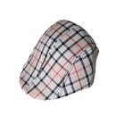 Opromo Toddler Kids Boys Cotton Plaid Berets Tweed Cabbie Flat Cap Peaked Hat