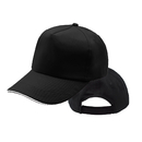 Opromo Unisex Plain Low Profile Cotton Adjustable Hat Sandwich Bill Baseball Cap
