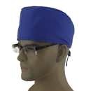 Opromo Women's and Men's Sweatband Skull Cap Chemo Hat with adjustable tie