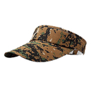 Opromo Digital Camouflage Military Visors Summer Outdoor Sports Sun Visor Hat