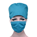 Opromo Adjustable Tie Back Cotton Skull Cap Chemo Hat with Sweatband