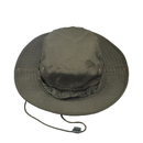 Opromo Fishing Bucket Boonie Hat Summer Sun Cap Outdoor Hat with Side Chin Cord