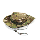 Opromo Kids Beach Camouflage Bucket Hat With Chin Straps Child Summer Beanie Cap