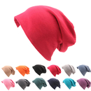 Opromo Unisex Baggy lightweight Hip-Hop Soft Cotton Slouchy Stretch Beanie Hat
