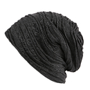Opromo Unisex Wrinkled Baggy Slouchy Beanie Cap Skull Hat Lightweight Thin Cap