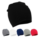 Opromo 3 Pack Toddler Infant Baby Boys Kids Girls Soft Knit Hat Beanies Cap