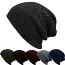 Opromo Slouch & Comfort Daily Beanie Winter Ski Baggy Hat Unisex Knit Beanie Cap