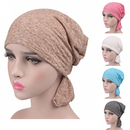 Opromo Chemo Cancer Cap Head Scarf Beanie Hat Womens Turban Ruffle Headwear