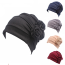 Opromo Chemo Cancer Head Scarf Hat Turban Headwear Stretch Flower Beanie Cap