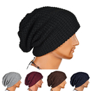 Opromo Unisex Slouchy Winter Hat Long Oversized Beanie Knit Cap Warm Ski Hat