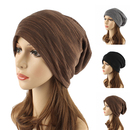 Opromo Womens Mens Slouch Hollow Beanie Thin Summer Cap Soft Cotton Skullcap Hat