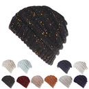 Opromo Colorful Confetti Soft Stretch Cable Knit Beanie Skull Cap Winter Hat
