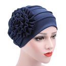 Opromo Chemo Hat Beanie Cancer Cap Women Stretch Flower Muslim Turban Headwear