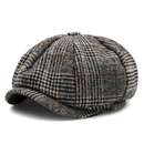 Opromo Classic Men's Wool Blend Applejack Gatsby Newsboy Hat Ivy Collection Hat