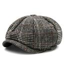 Opromo Classic Men's Wool Blend Applejack Gatsby Newsboy Hat Ivy Collection Hat