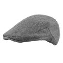 Opromo Men's Herringbone Tweed Wool Blend Newsboy Cap Gatsby Ivy Driving Hat