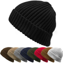Opromo Winter Thick & Warm Chunky Ribbed Knit Hat Stretch Cuff Beanie Skull Cap
