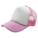 Opromo Trucker Cap Mesh Hat with Adjustable Strap and Small Braid