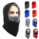 Opromo 6 in 1 Fleece Balaclava Windproof Ski Hooded Winter Warm Hat