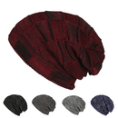 Opromo Beanie Hat for Men and Women Winter Warm Hat Knit Slouchy Thick Skull Cap