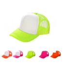 Opromo Kids Bright Neon Mesh Trucker Hat Adjustable Snapback Safety cap