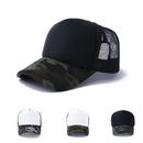 Opromo Camo Curve Bill Mesh Back Summer Trucker Cap Adjustable Snapback Hat