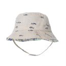 Opromo Toddler Kids Sun Hat Cotton Reversible Bucket Hat Sun Protective Cap
