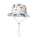 Opromo Toddler Dinosaur Hat Kids Sun Protection Animal Bucket with Chin Strap