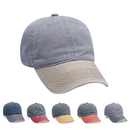 Opromo Classic Optimum Cap Unisex Pigment Dyed Washed Cotton Cap Adjustable Hat