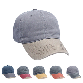 8ef99b3cef6 Opentip.com  Opromo Classic Optimum Cap Unisex Pigment Dyed Washed Cotton  Cap Adjustable Hat