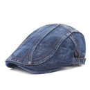 Opromo Men's Cotton Flat Snap Hat Ivy Gatsby Newsboy Hunting Cabbie Driving Cap