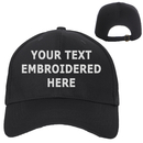 Opromo Personalized Text Embroidery Custom Cotton Dad Hat Polo Style Low Profile Plain Baseball Cap