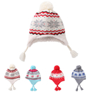 Opromo Kids Baby Toddler Boys Girls Winter Hat Warm Knit Beanie Earflap Hat