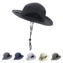 Opromo Kids Bucket Sun Hat Wide Brim UV Sun shielding Hat Adjustable Outdoor Play Hat Cap