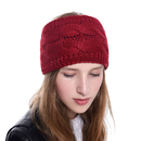 Opromo Winter Warm Soft Stretch Fuzzy Lined Cable Knit Headband Ear Warmer Head Wrap - 12 Colors