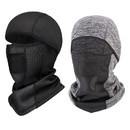 Opromo Water Resistant Fleece Balaclava for Cold Weather,Waterproof Windproof Ski Face Mask Hood Cap Motorcycle Helmet
