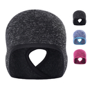 Opromo Women's Winter Warm Fleece Lined Knit Beanie Ponytail Hat Skull Cap Runner's Beanie