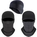 Opromo Winter Warm Fleece Helmet Liner Skull Cap Beanie Balaclava -  Perfect for Running, Cycling, Skiing & Winter Sports