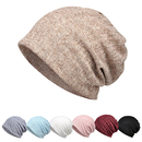 Opromo Womens Hollow-Out Cotton Beanie Scarf Turban Hat Summer Chemo Cancer Cap