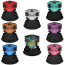 Opromo Cycling Motorcycle Tube Face Cover Seamless Skull Neck Gaiter