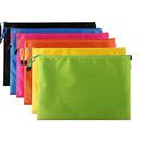 Muka 10 Pack Zipper Waterproof Document Holder, Zipper File Bags, Mesh Zipper Bags Pencil Pouch Document Organizer