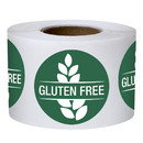 Muka 500 PCS 1.5 Inch Gluten Free Labels, Food Rotation Labels